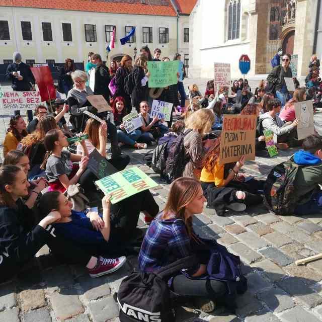 Mladi za klimu Zagreb